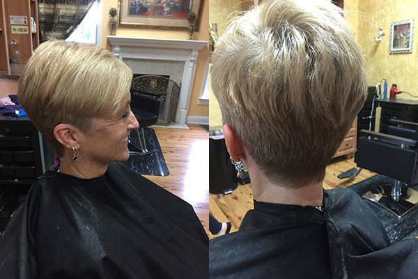 Precision cuts for men and women, color and foils...